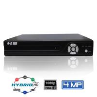 Dvr 4 Canais Hb Tech 4 Mega Detecção Facial 5 Em 1 Hb-6304